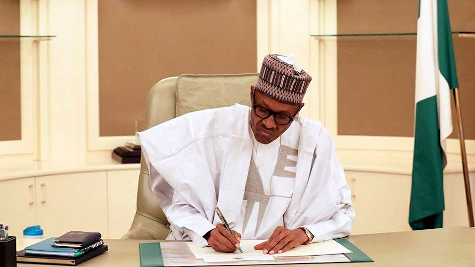 Buhari Signs Agreement With Uae To Strengthen Fgs Anti Corruption