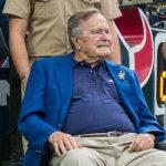 Ex-president George H.W Bush Hospitalized Again