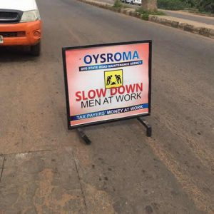 Image result for The Chairman, Oyo State Road Maintenance Agency (OYSROMA)