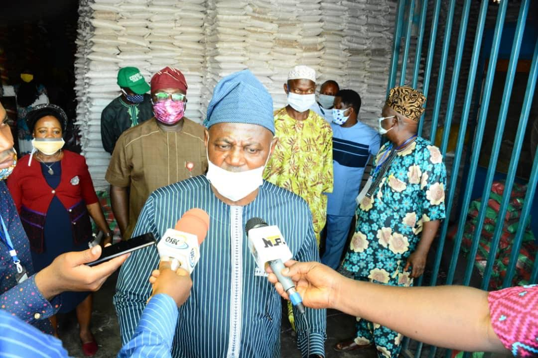 COVID-19: Osun Food & Relief Committee begins distribution of palliatives