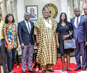 Obasa's Law School Colleagues Visit Speaker